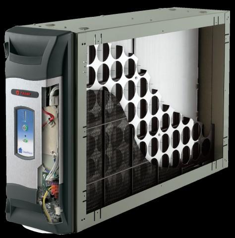 A cutaway image of a Trane Clean Effects Air Purifier